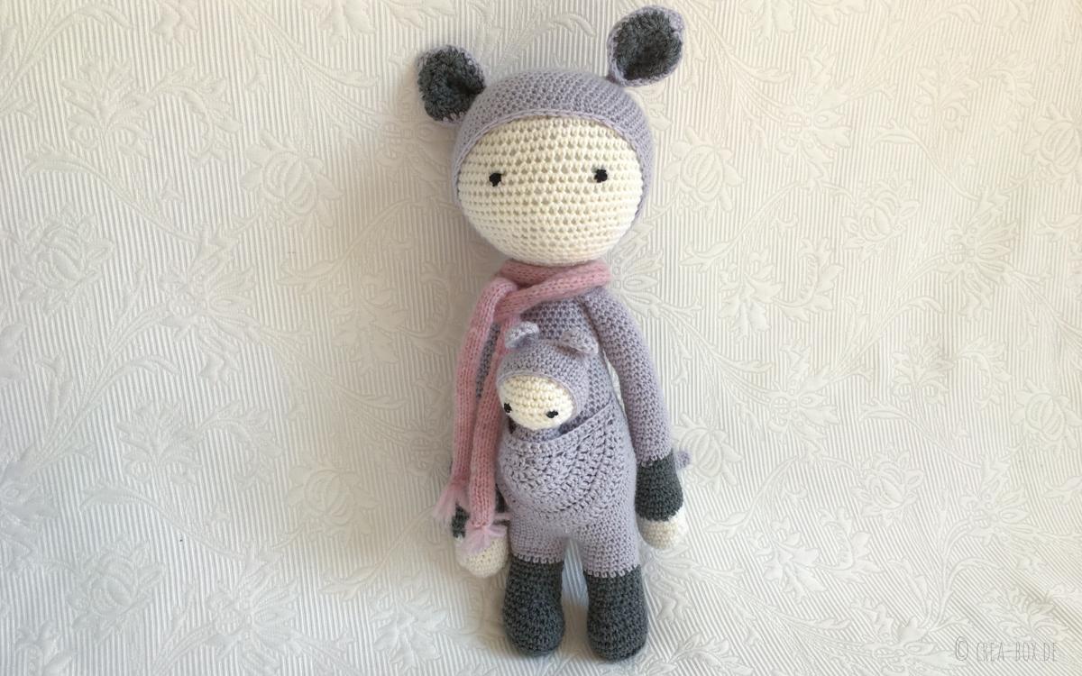Amigurumi Häkeln Projektergebnis Lalylala Puppe Kira Creative Box