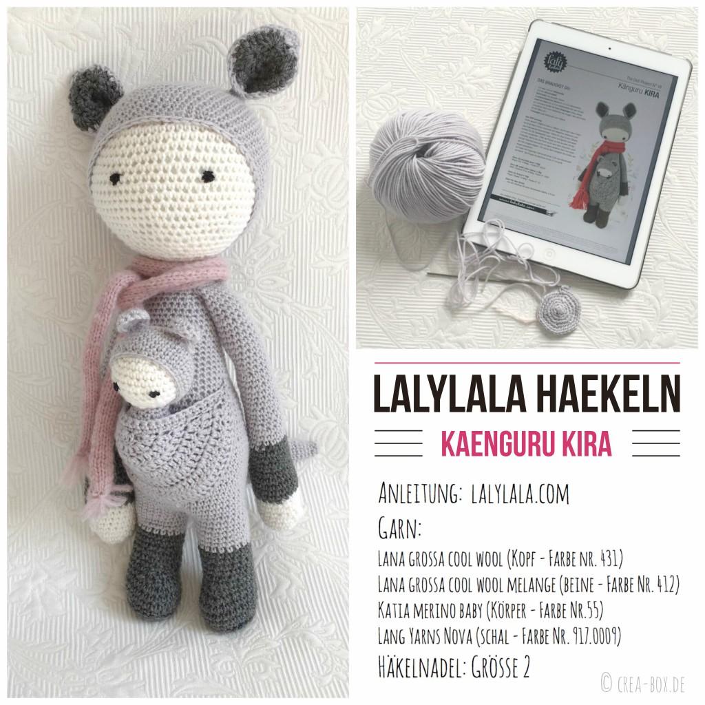 Lalylala-Puppe nach der Anleitung von Lydia (lalylala.com)