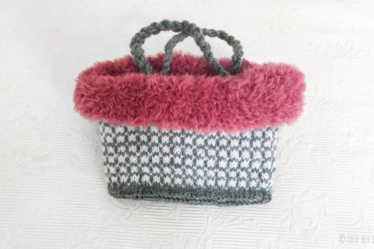Handtasche gestrickt Mädchen