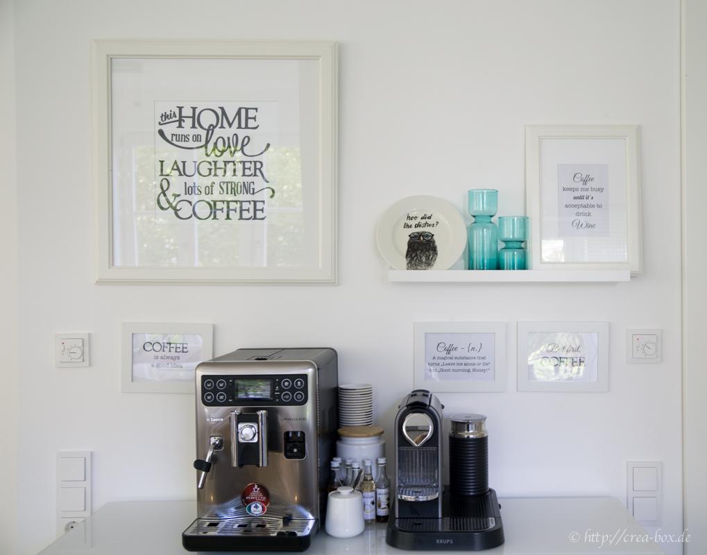 Bilderrahmen Und Leisten Projektergebnis Kaffee Ecke Creative Box
